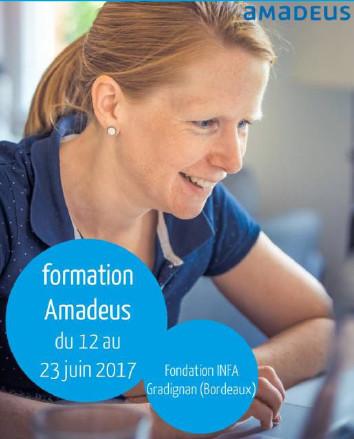 La prochaine session de formation sur le logiciel Amadeus aura lieu du 12 au 23 juin 2017 - DR : Fondation INFA