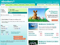 Le site d'ebookers
