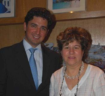 Sylvain Germaine, D. commercial, et Robiha Deloubriere, D.   générale