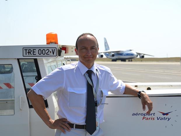 Stéphane Lafay, directeur général de l'aéroport Paris-Vatry © DR