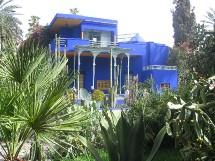 Le Maroc - ici le Jardin Majorelle à Marrakech - plébiscité par le marché français, en hausse 28 % en janvier.