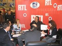 """L'Aps a animé le premier jour du SMT avec l'émission radio de Julien Courbet """"Ca peut vous arriver"""" sur RTL."""