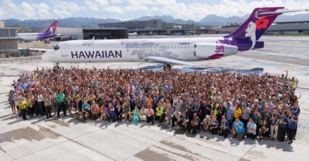 La compagnie Hawaiian Airlines a dévoilé sa nouvelle identité visuelle - DR Hawaiian