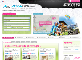 Snowresa.com : une nouvelle agence en ligne spécialiste des Alpes