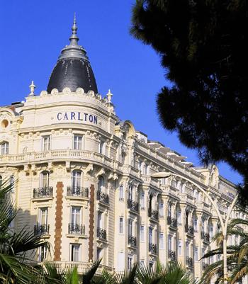 L'hôtel InterContinental Carlton à Cannes