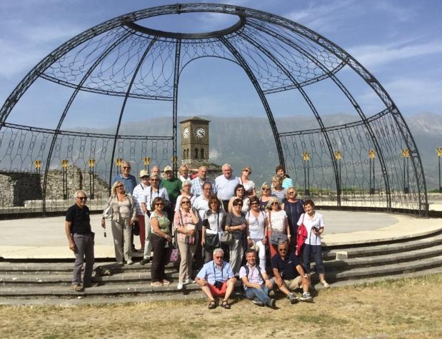 Une trentaine de membres de l'AFST ont découvert l'Albanie - DR : J.-P.C.
