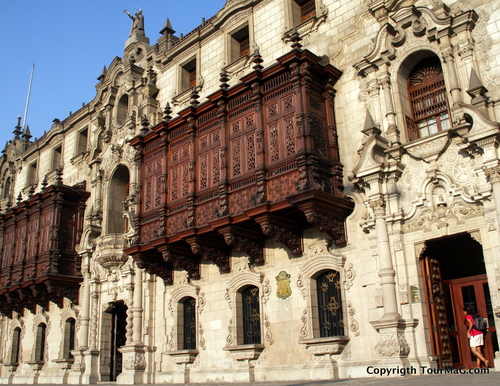 Centre ville de Lima