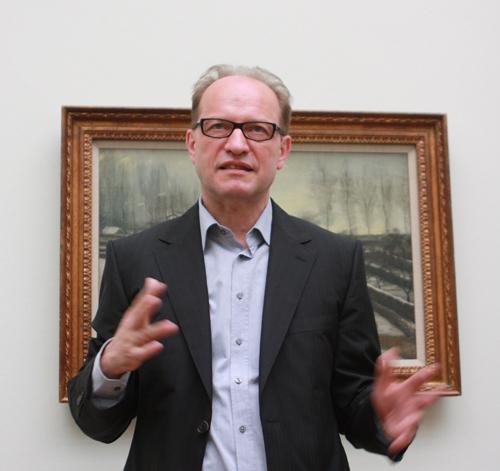 Bernhardt Mendes Bürgi, directeur du Kunstmuseum de Bâle