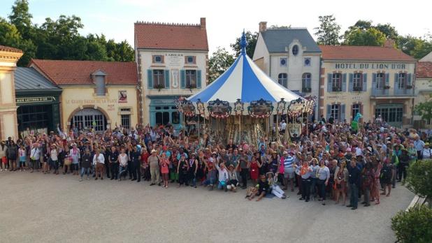 Les Rencontres CE d'Eluceo au Puy du Fou en 2016 - DR : Eluceo