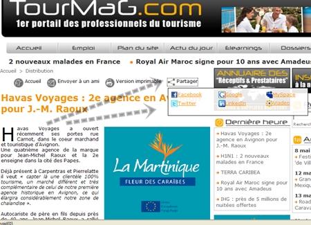 TourMaG.com : ''Partagez''... il en restera quelque chose !
