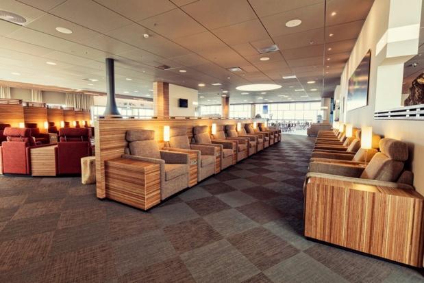 Le nouveau salon pour les voyageurs d'affaires d'Icelandair s'étend sur 1 400 m² - Photo : Icelandair