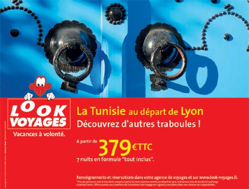 Tunisie : Look s'affiche à Paris et en Province