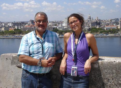 L'équipe de Havanatour à Paris