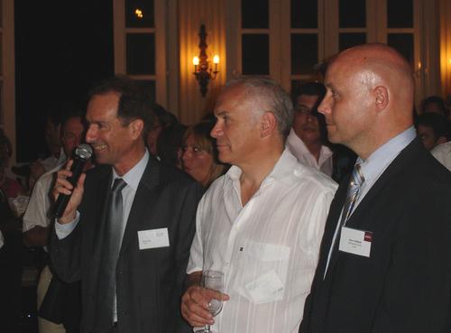 Avec Eric Peyre l'équipe Accor à Cuba