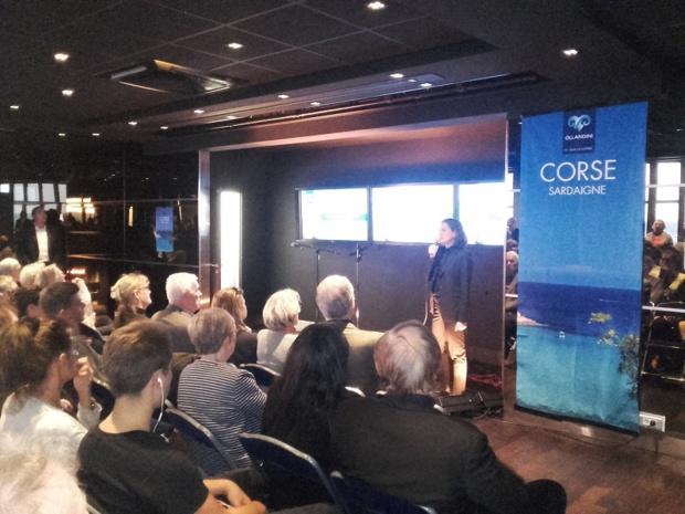 Quelque 200 clients sont venus partager ce moment festif à l'Espace Montparnasse 56 - DR : Ollandini