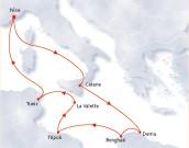 Tapis Rouge Croisières : Libye-Malte... Vestiges des civilisations antiques