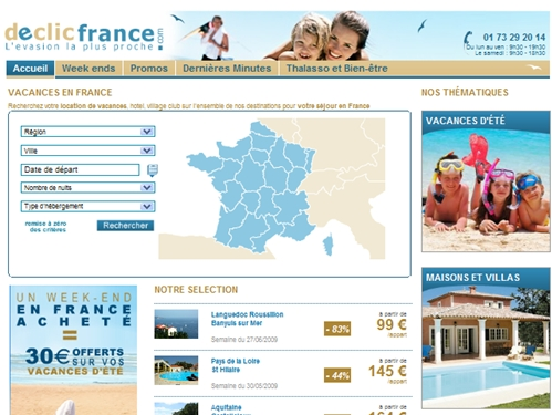 Destination France : Travelfactory lance Declicfrance.com