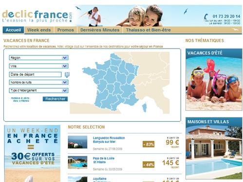 Destination France : Travelfactory lance Declicfrance.com