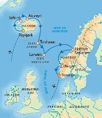 Transtours : Islande et fjords de Norvège