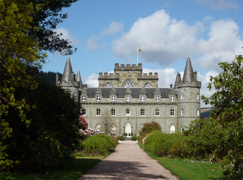 Chateau Inveraray - Clan Campbell