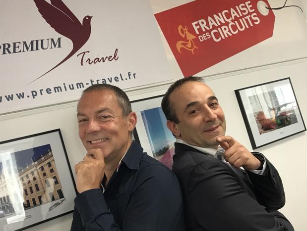Fabien Cadiot (à gauche) et Bruno Berrebi - Photo : DR