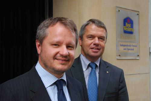 Stéphane Gauthier et Gérard Claudel