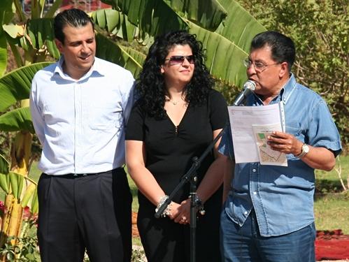 La famille Chaoui au grand complet lors du congrès Manor à Marrakech en 2007
