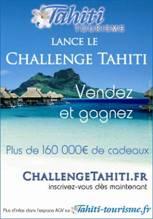 Tahiti Tourisme : grand challenge de ventes pour les agents de voyages
