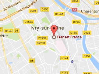 Le siège de Transat France se situe à Ivry-sur-Seine - DR : Google Maps