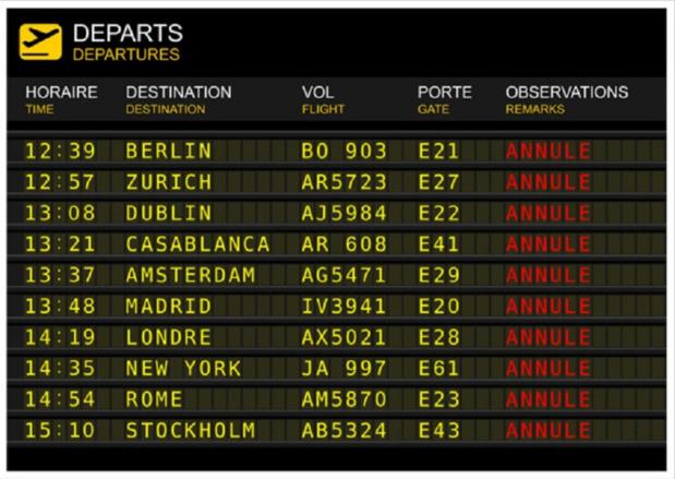 Combien de temps les passagers ont-ils pour demander une indemnisation après un vol annulé ? - Photo : © sablin - Fotolia.com