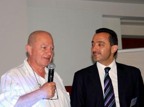 l'APS était présente en force au CEDIV avec le ''couple'' Raoul Nabet-Emmanuel Toromanoff...