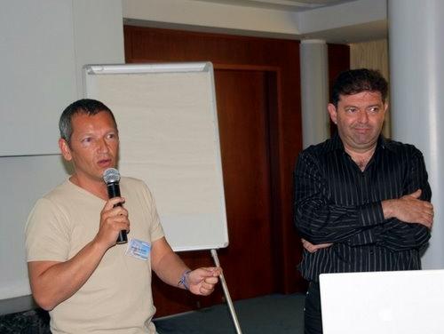 Bruno Hugues et Alain Arazi, ont rappelé les grands principes d'une stratégie commerciale efficace