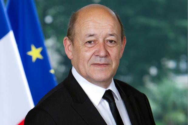Jean-Yves Le Drian ministre de l'Europe et des Affaires étrangères, est également, et entre autres, en charge du Tourisme au sein du gouvernement d'Edouard Philippe - Photo : Gouvernement.fr