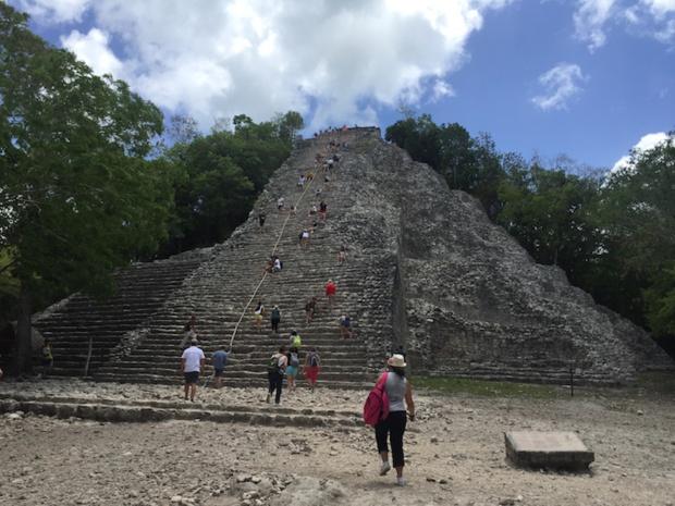 Les ruines maya de Coba, dans la zone touristique de la Riviera Maya © DR PG Tourmag