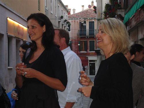 Sophie Vaillant responsable régionale Carrefour et Laure commerciale Italowcost