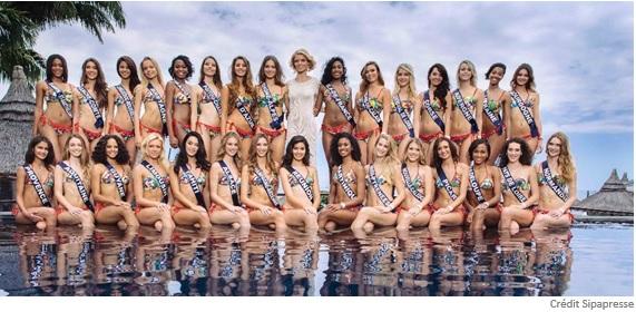 Les Miss France en Californie avec Air Tahiti Nui