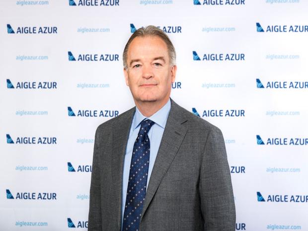 Michael Hamelink est P-DG d'Aigle Azur depuis le 27 mai 2015. Il avait remplacé Cedric Pastour à ce poste. © DR Aigle Azur