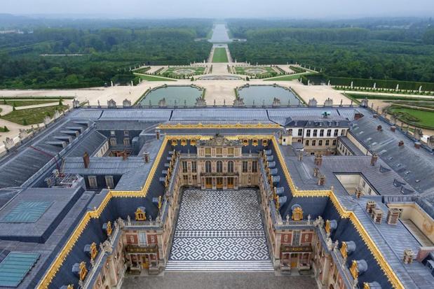Le château et les jardins ou l'art français au XVIIe siècle. Les travaux ont demandé un demi siècle - DR : C. Thomas Garnier