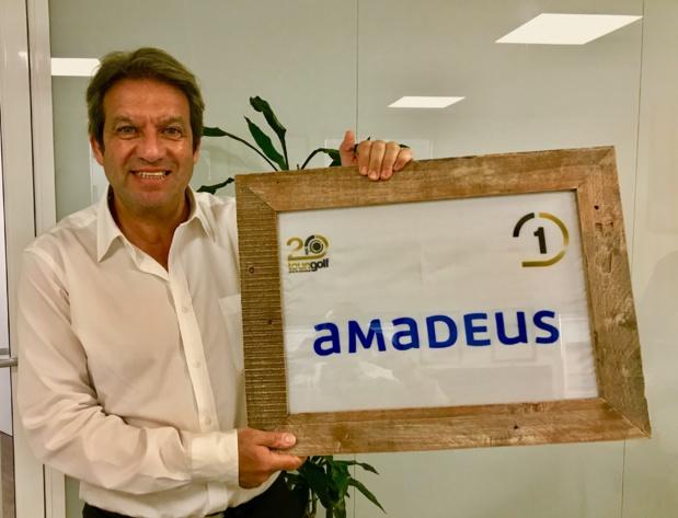 Georges Rudas avec Amadeus, grands vainqueurs de la TOURIDER CUP /JDL