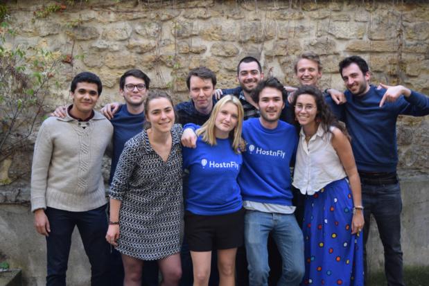 L'équipe HostnFly (c) HostnFly