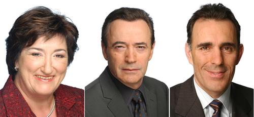 Lina De Cesare, Philippe Sureau et Nelson Gentiletti