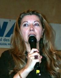 Nadine PAWLAK, présidente du SNAV Provence et co-présidente du CLAIR