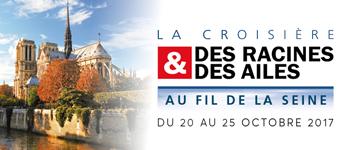 """Croisières d'exception lance une croisière """"Des Racines et des Ailes"""" sur la Seine"""