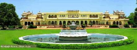 Raibagh Palace, Jaipur, India