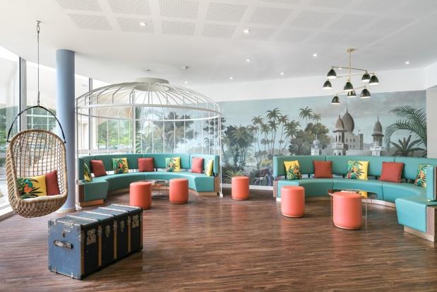 L'Hôtel Birdy se dote d'une ambiance exotique - DR : Herve Fabre Photographies