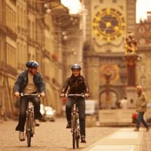 © Bern Tourisme - En découverte de la capitale suisse en vélo