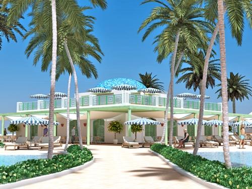 En 2013, projet abouti, quand les innombrables palmiers plantés auront poussé, Mediterrania Saïdia aura tout d'une grande !