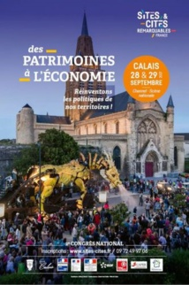 Calais accueille le 2e congrès national des Sites et Cités remarquables de France