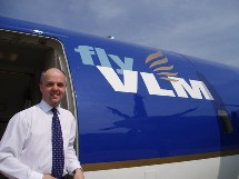 Au sein de VLM,  Peter Kenworthy sera responsable de la poursuite du développement commercial de la compagnie.