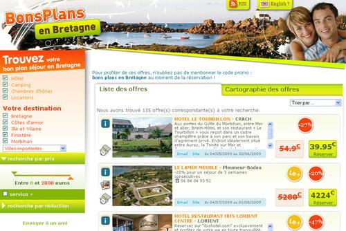 La Bretagne se met aux offres de dernière minute
